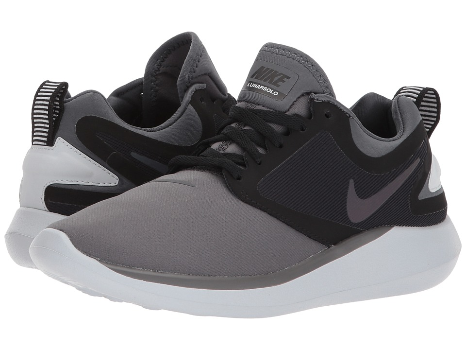 Nike Kids Lunarsolo (Big Kid) (Dark Grey/Multicolor/Black) Boys Shoes