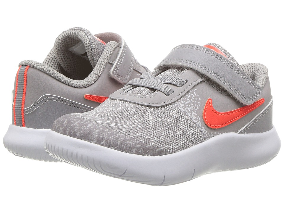Nike Kids Flex Contact (Infant/Toddler) (Atmosphere Grey/Total Crimson/Vast Grey) Boys Shoes