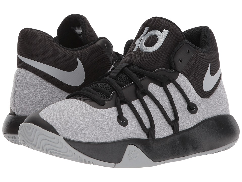 Nike Kids KD Trey 5 V (Big Kid) (Black/Wolf Grey) Boys Shoes