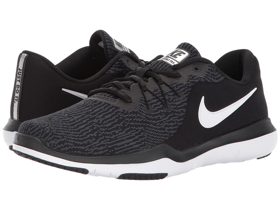 Nike Flex Supreme TR 6 Training (Black/White/Anthracite) ...
