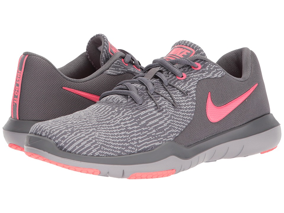 Nike Flex Supreme TR 6 Training (Gunsmoke/Metallic Silver...