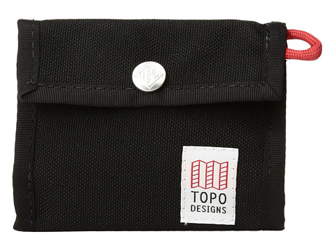Topo Designs Snap Wallet - Black