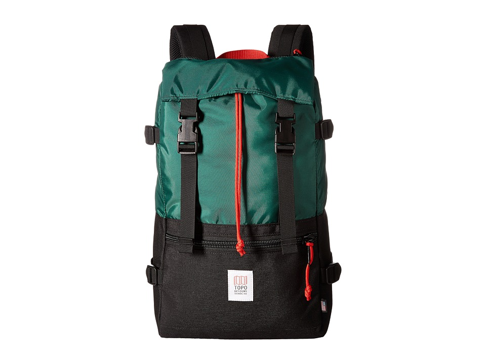 Topo Designs - Rover Pack (Forest/Black) Backpack Bags