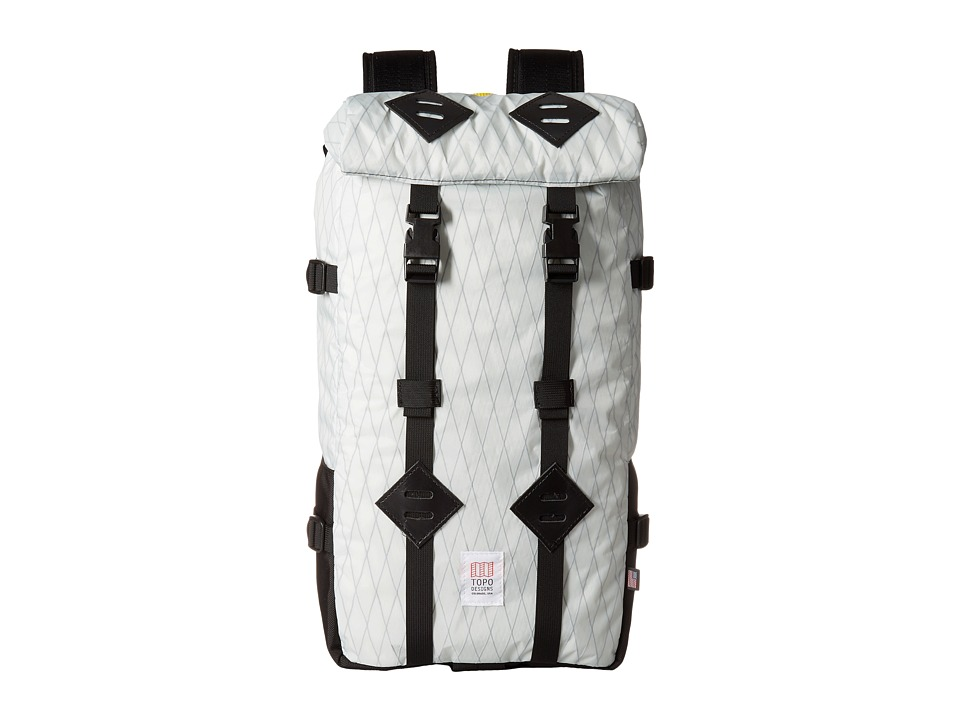 Topo Designs - Klettersack (X-Pack/Ballistic Black) Backpack Bags
