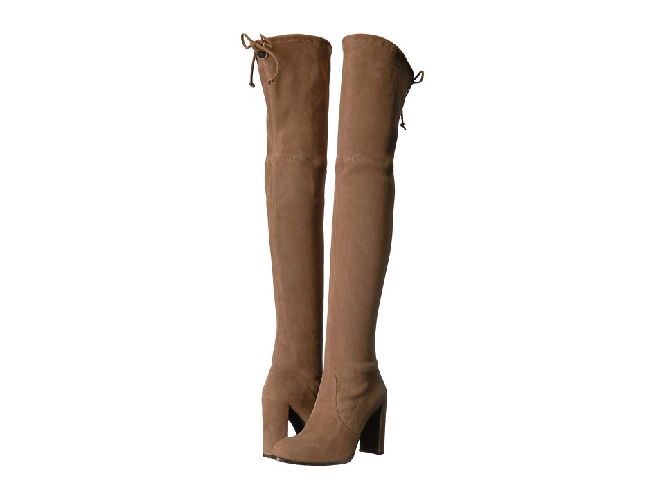 Stuart Weitzman Hiline (Nutmeg Suede) Women's Shoes