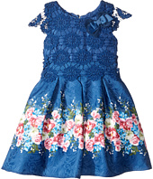 Us Angels - Cap Sleeve Lace Popover Dress (Toddler/Little Kids)