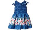 Us Angels - Cap Sleeve Lace Popover Dress (Toddler/Little Kids)