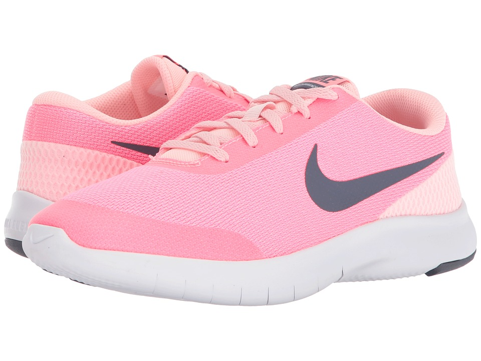 Nike Kids Flex Experience Run 7 (Big Kid) (Arctic Punch/Light Carbon/Sunset Pulse) Girls Shoes
