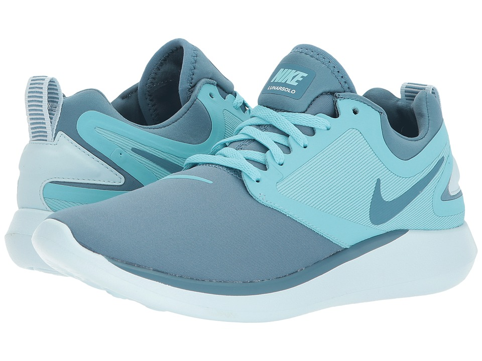 Nike Kids Lunarsolo (Big Kid) (Noise Aqua/Noise Aqua/Bleached Aqua) Girls Shoes