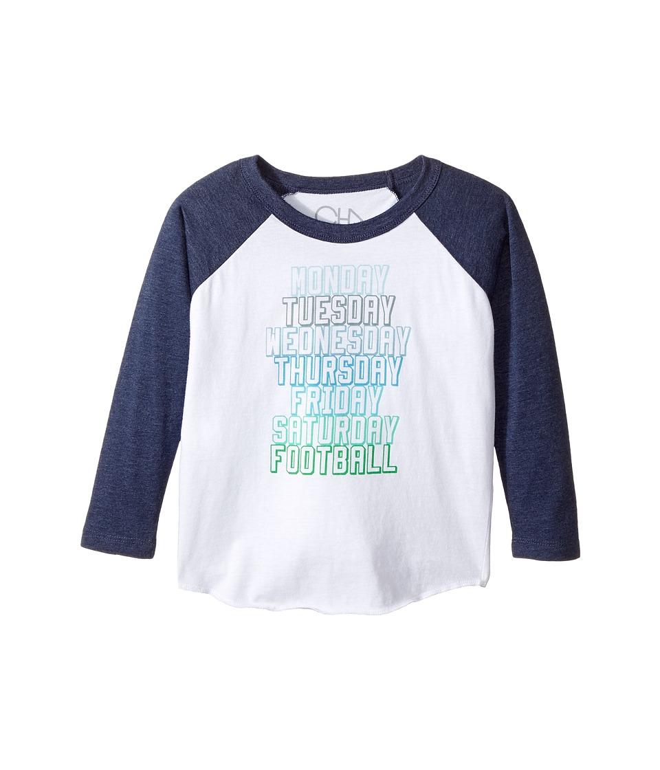Chaser Kids - Vintage Jersey Long Sleeve Baseball T-Shirt