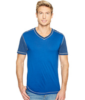 Agave Denim - Darren Short Sleeve Colorblock V-Neck Tee