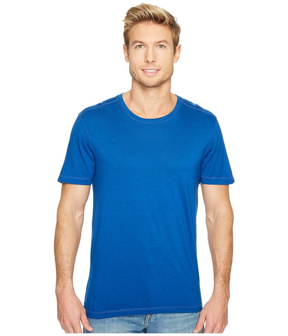 Agave Denim Mikey Short Sleeve Crew Tee (True Blue) Men