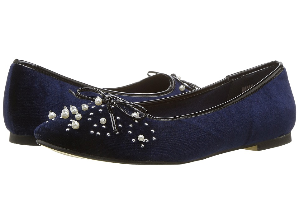 Ladies Victorian Boots & Shoes – Granny boots Report - Shelley Navy Womens Shoes $30.99 AT vintagedancer.com