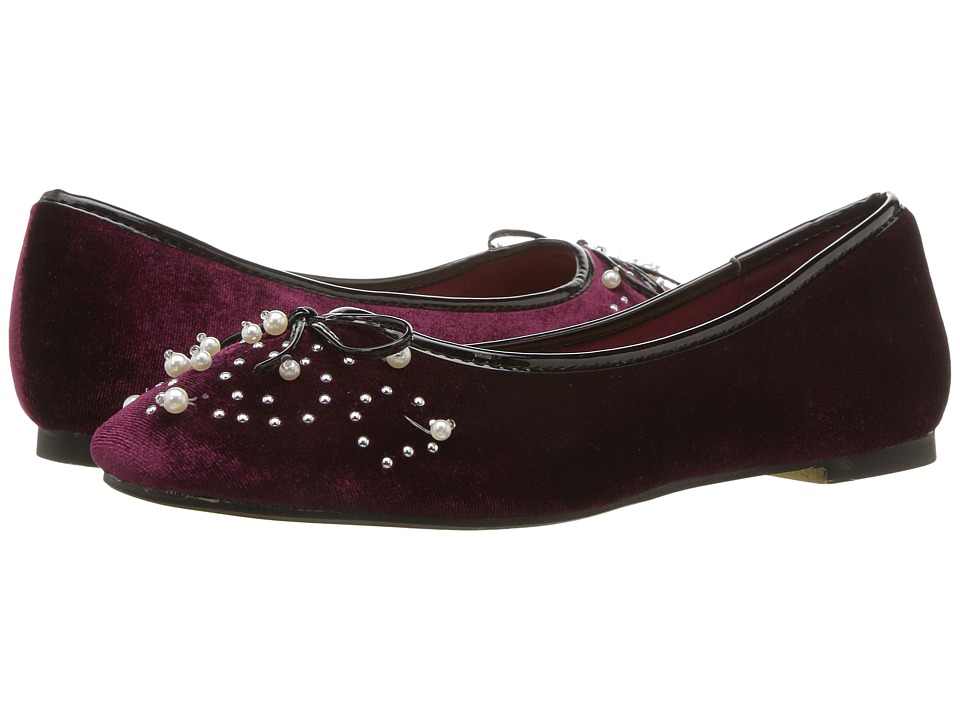 Ladies Victorian Boots & Shoes – Granny boots Report - Shelley Burgundy Womens Shoes $35.99 AT vintagedancer.com