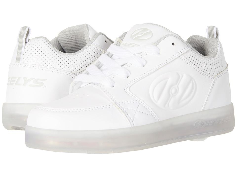 Heelys Premium 1 Lo (Little Kid/Big Kid/Adult) (White) Kids Shoes