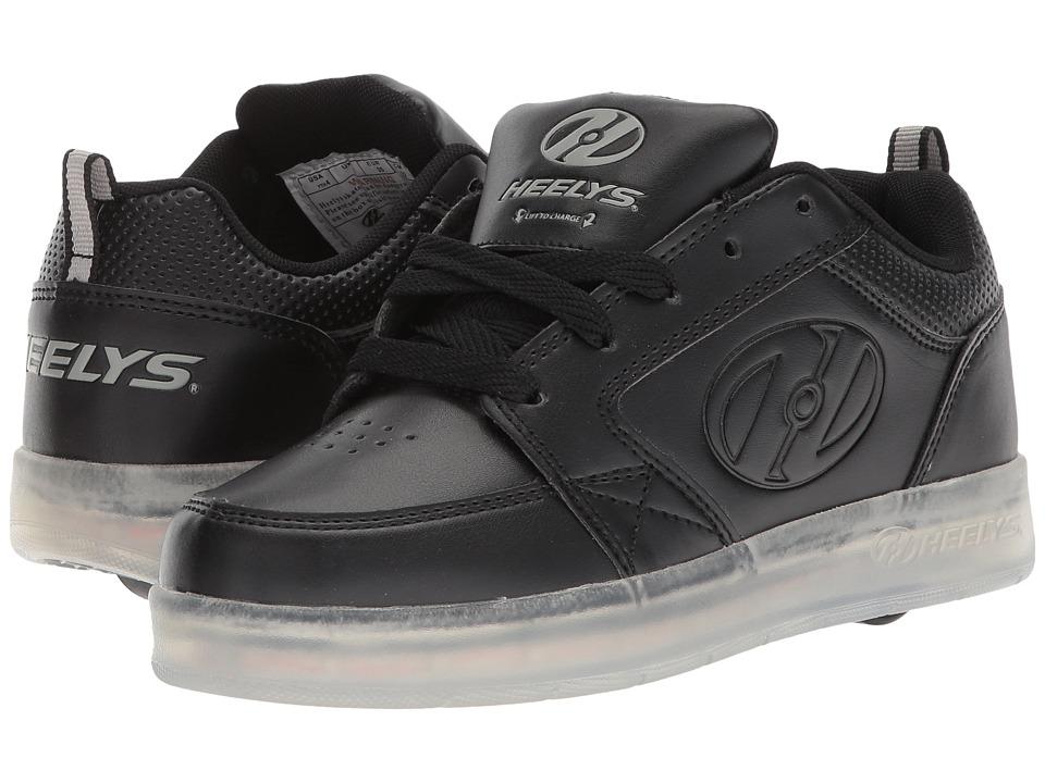 Heelys - Premium 1 Lo (Little Kid/Big Kid/Adult) (Black-T) Kids Shoes
