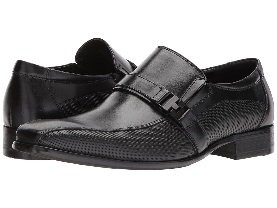 Kenneth Cole Reaction - Design 20722 (Black) Mens Slip on  Shoes