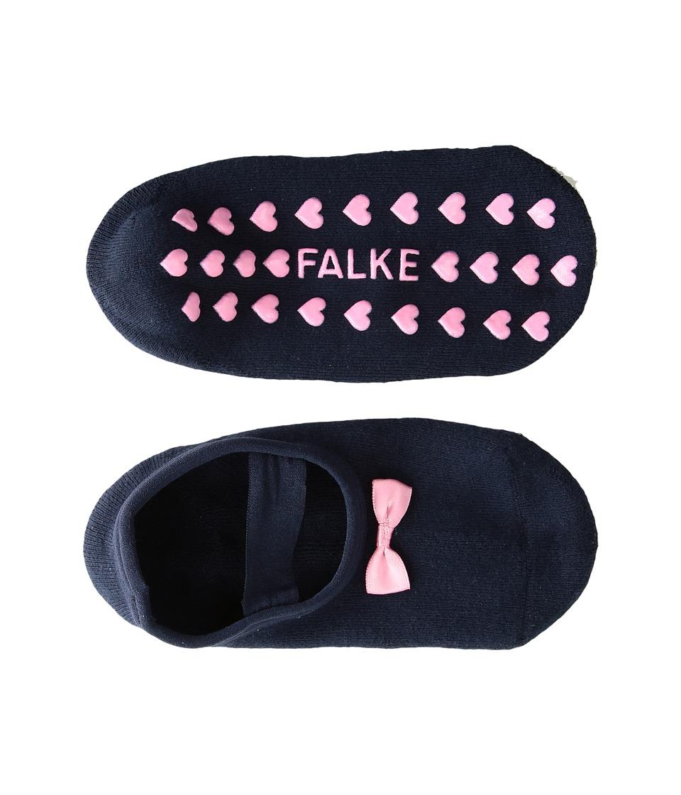 Falke - Ballerina Catspads (Little Kid/Big Kid) (Marine) Women's Crew Cut Socks Shoes