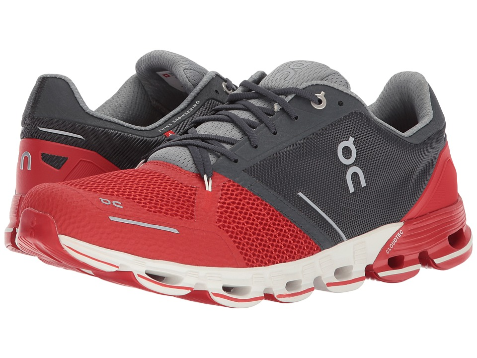 On - Cloudflyer (Red/White) Mens Shoes