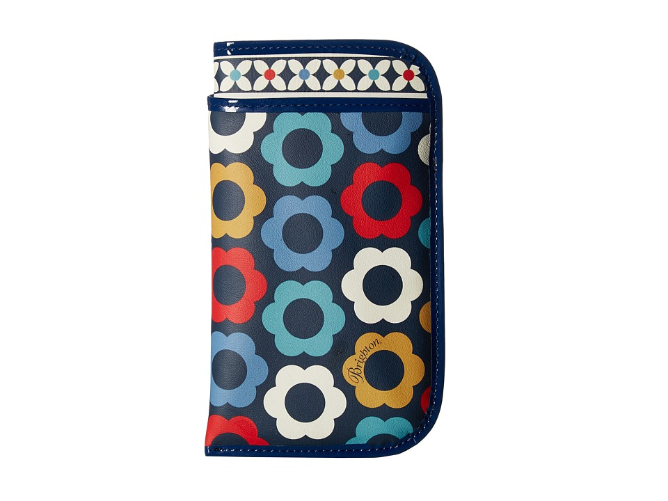 Brighton - Newberry Double Eyeglass Case (Blue Multi) Wallet