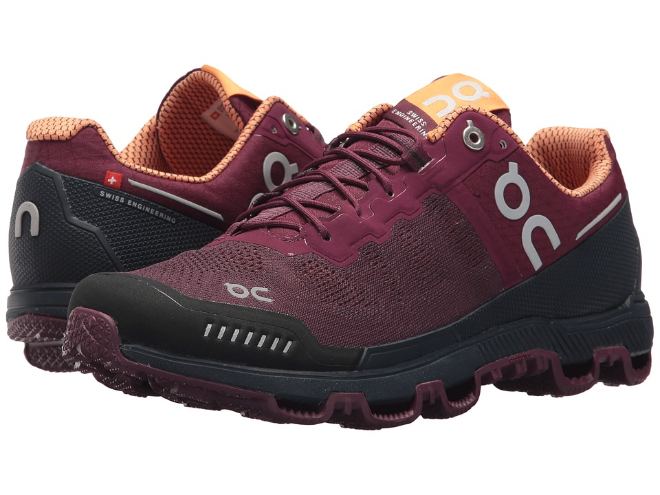 On Cloudventure (Mulberry/Salmon) Women's Running Shoes