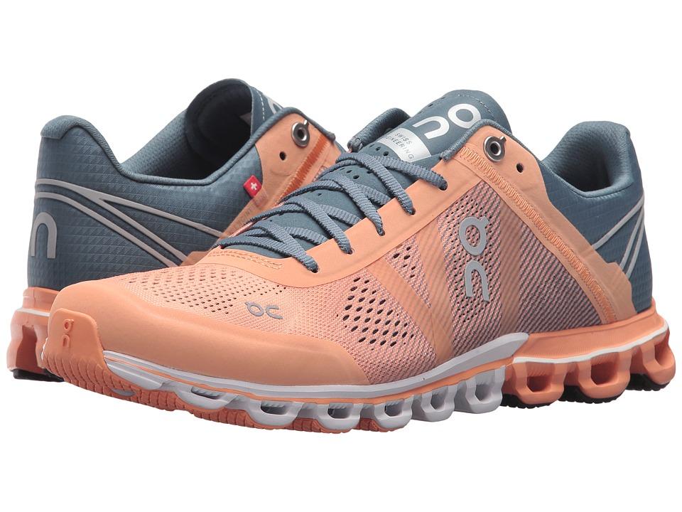 On Cloudflow (Almond/Grey) Women's Shoes