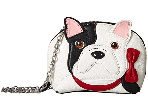 Brighton Billie Bulldog Pouch Mini Bag - Black Multi