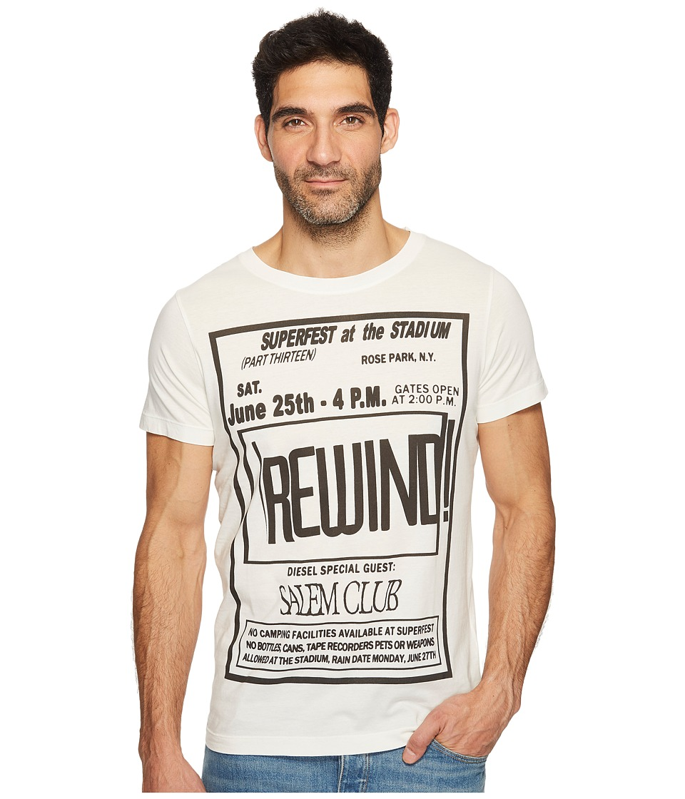 Diesel T-Diego-DC-QE T-Shirt (Grey) Men