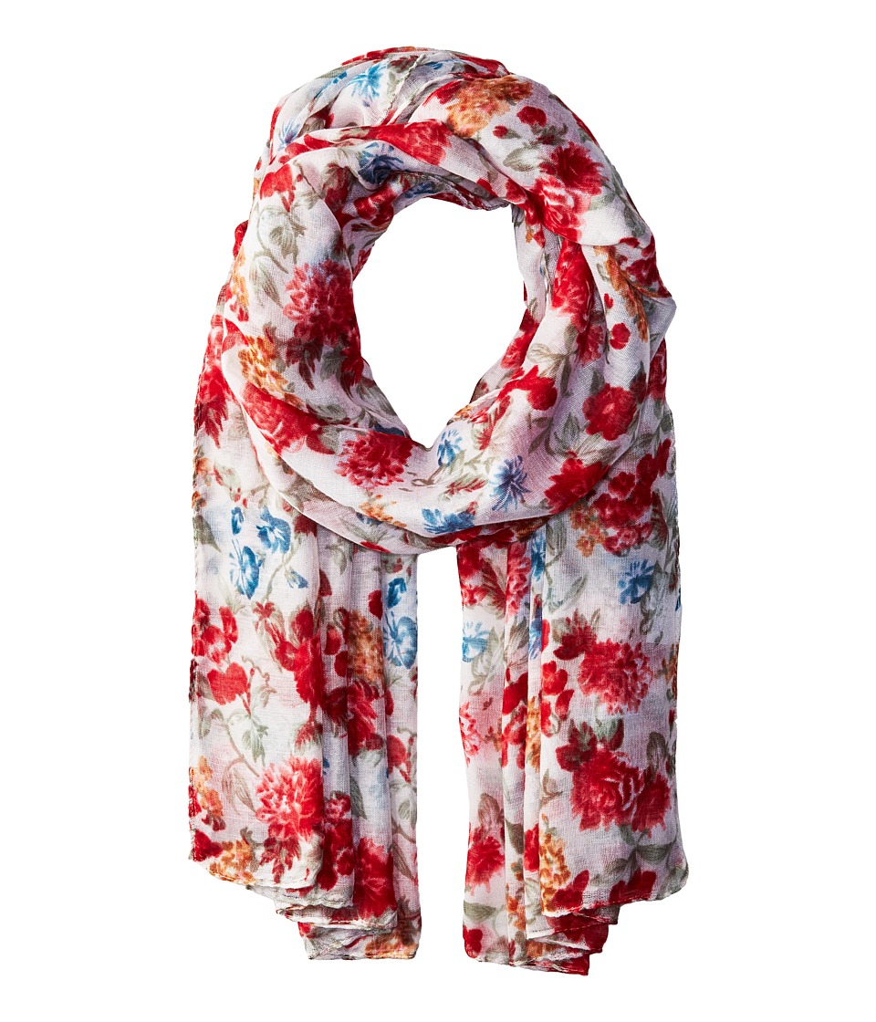 Bindya Bindya - Striped and Floral Scarf