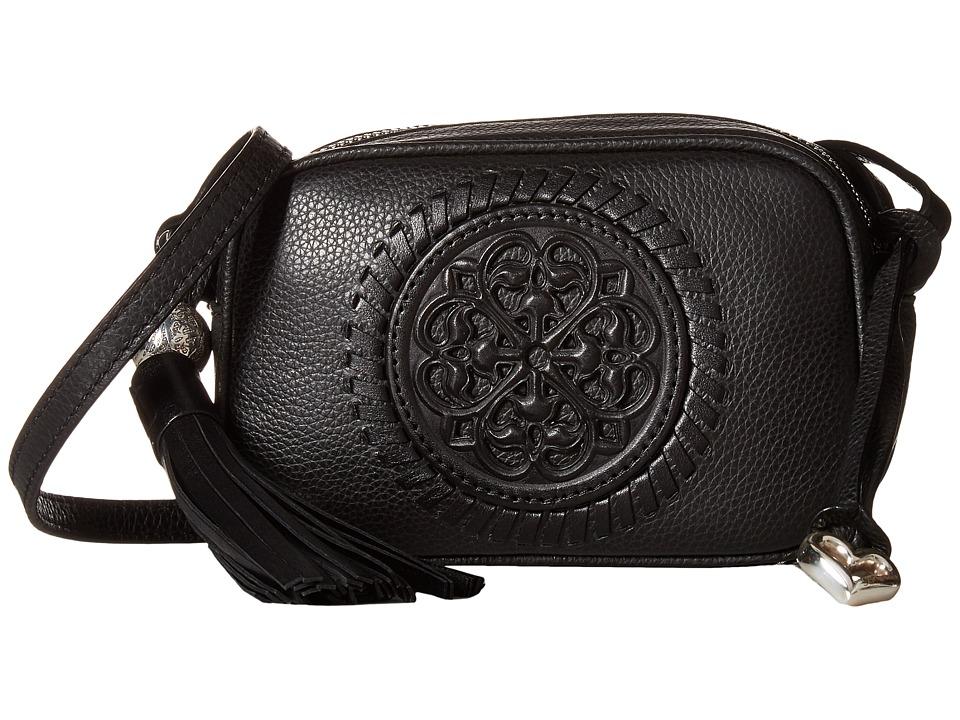 Brighton - Mona Mini Camera Bag (Black) Handbags