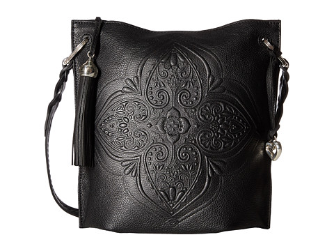 Brighton Layla Slim Shoulder Bag - Black