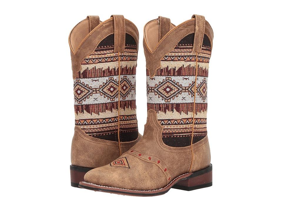 Laredo Scout (Tan/Aztec) Cowboy Boots