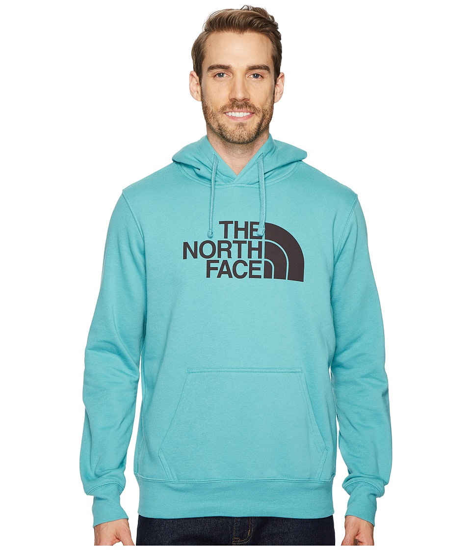 North Face Half Dome Pullover Hoodie (Bristol Blue/Weathe...