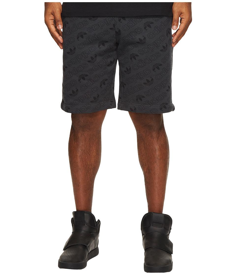 adidas Originals - AOP Shorts (Carbon) Men's Shorts