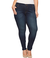 KUT from the Kloth - Plus Size Diana Skinny Jeans in Systematic w/ Euro Base Wash