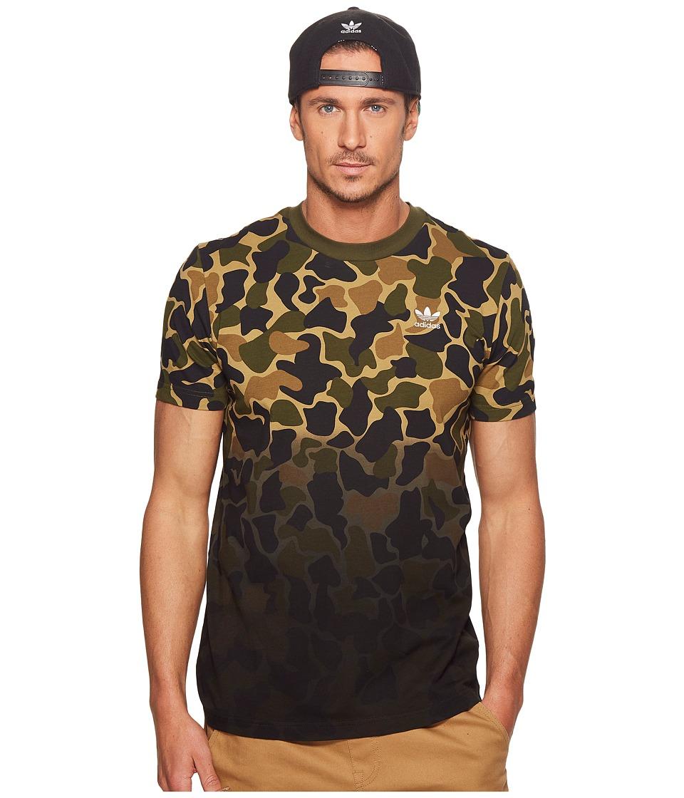 adidas Originals - Camo Tee (Multicolor 1) Mens T Shirt