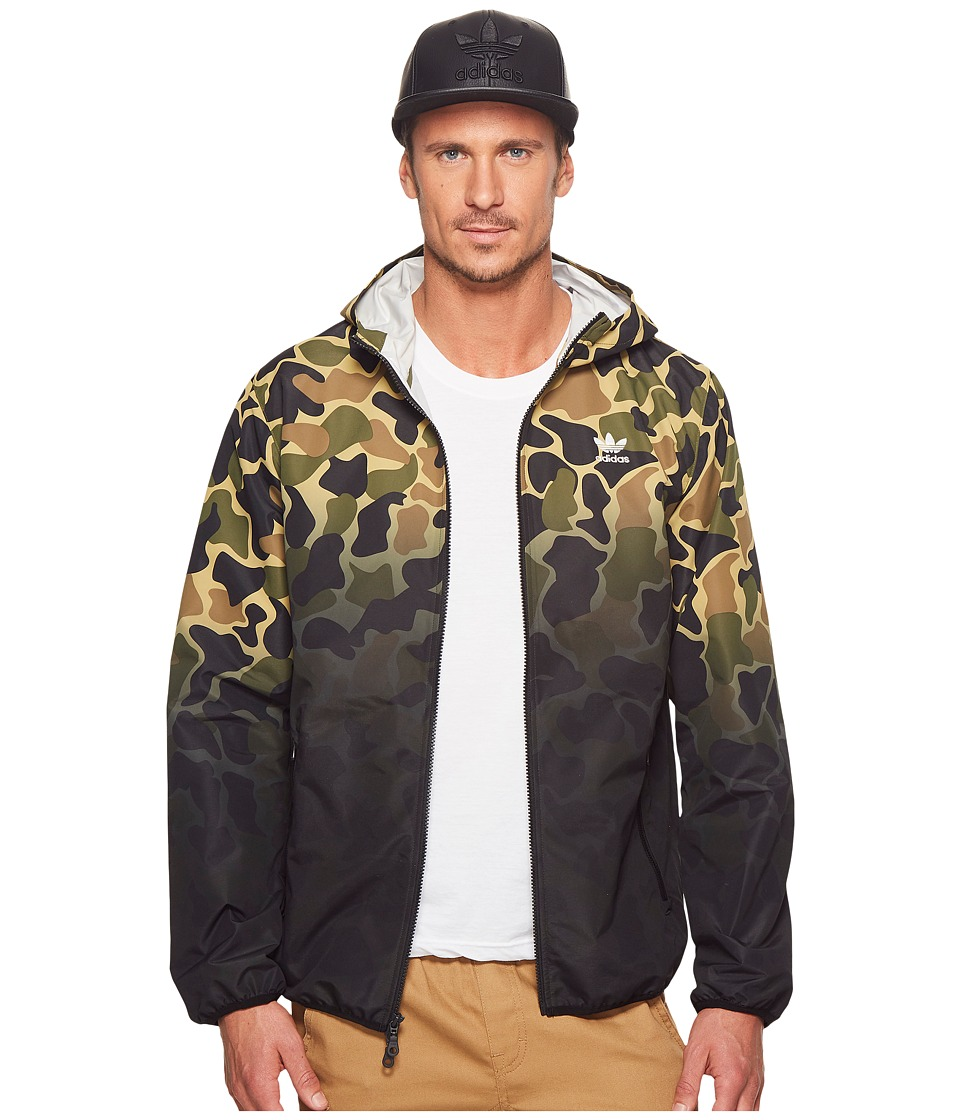 adidas Originals - Camo Windbreaker (Multicolor 1) Mens Clothing