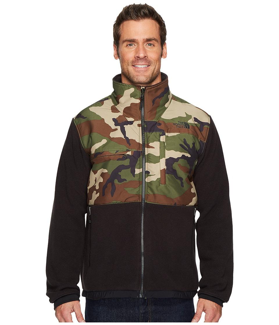 The North Face - Denali 2 Jacket (Weathered Black/Terrarium Green Camo) Mens Coat