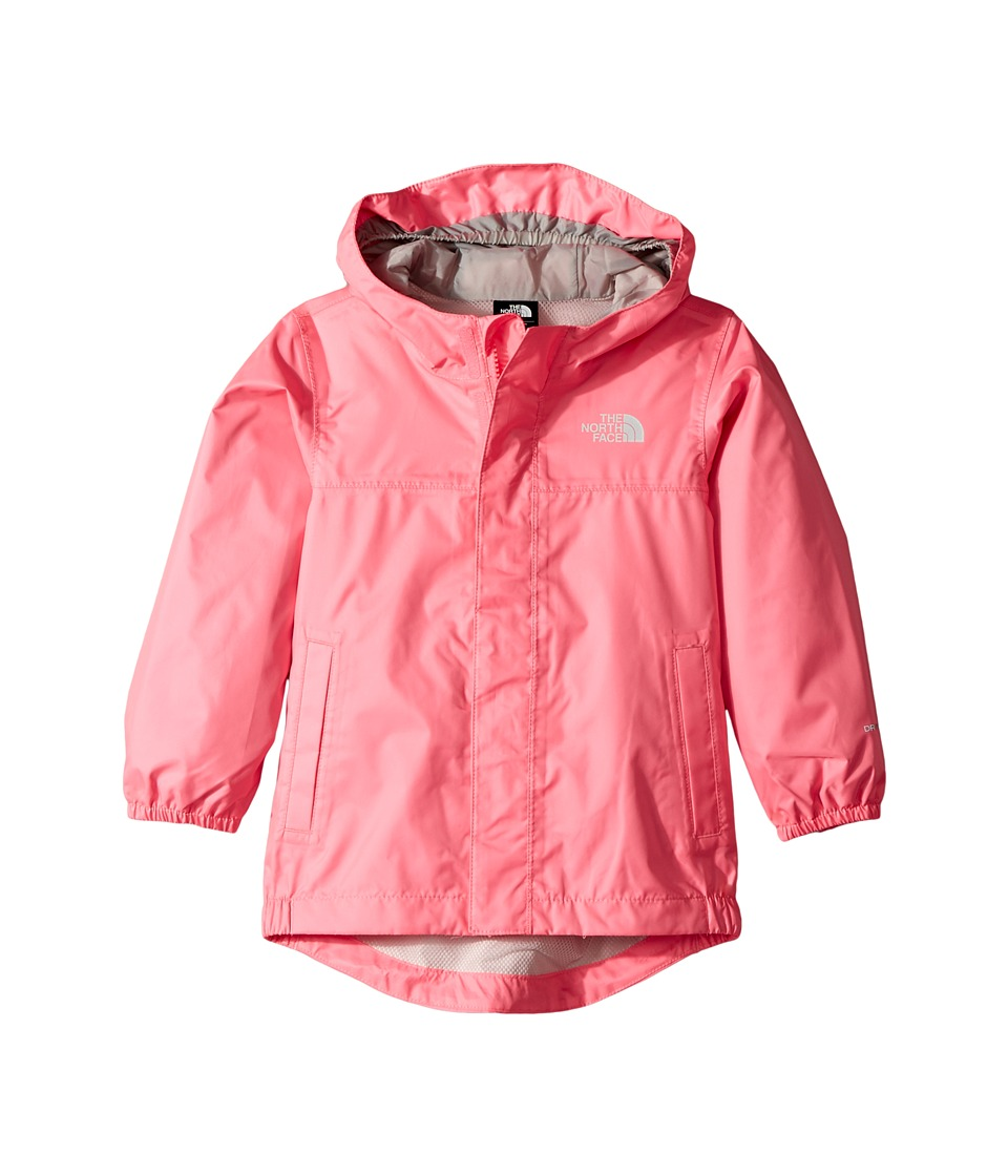 The North Face Kids Tailout Rain Jacket (Toddler) (Gem Pink) Girl