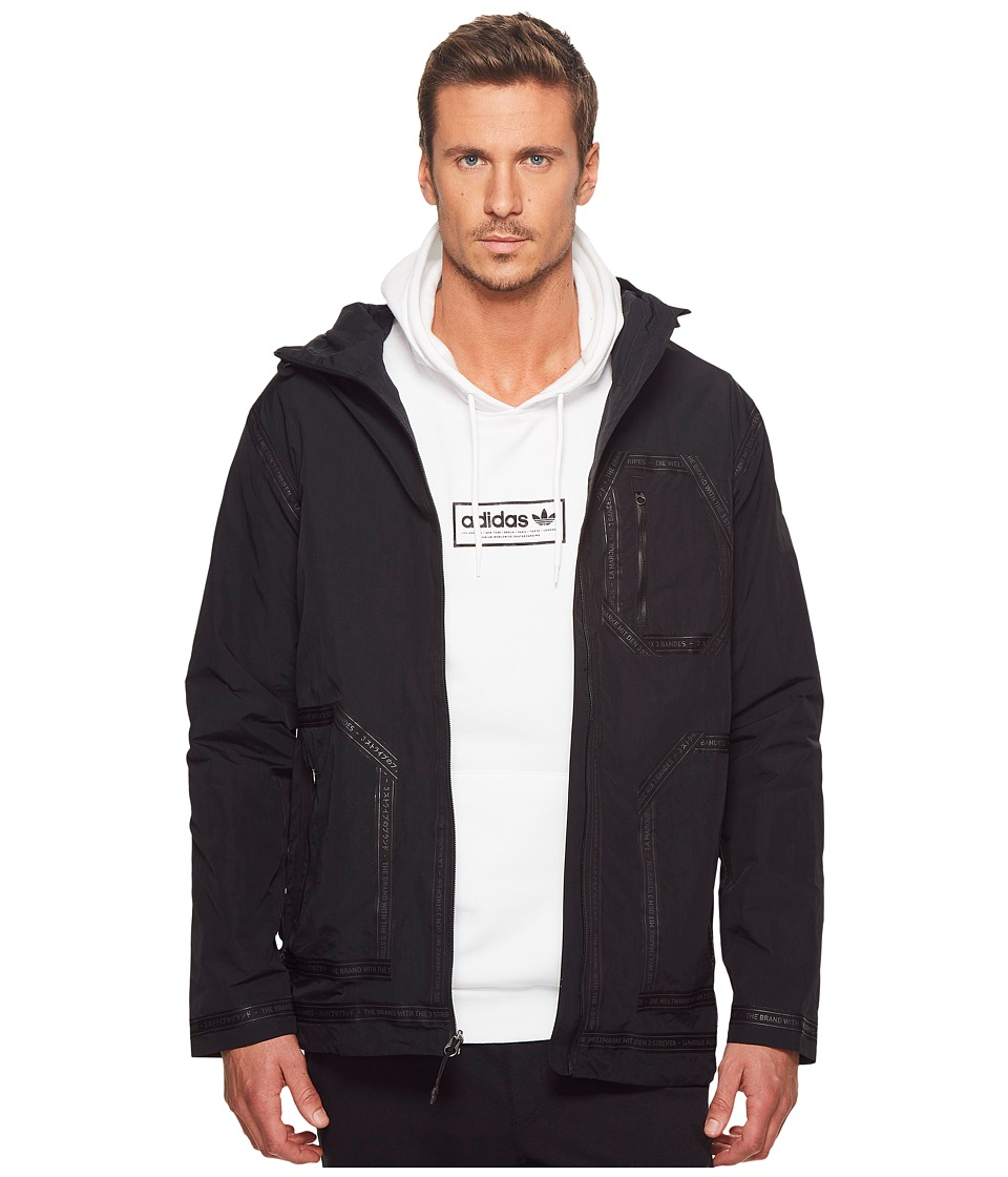 Adidas Originals - NMD Field Jacket (Black) Men's Sweatshirt