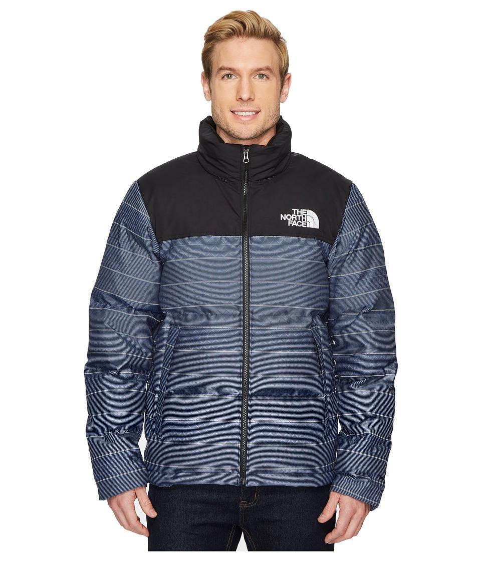 The North Face Novelty Nuptse Jacket (Urban Navy Multi) Men