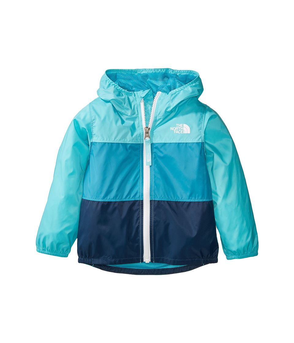 North Face Flurry Wind Jacket (Toddler) (Blue Curacao) Gi...