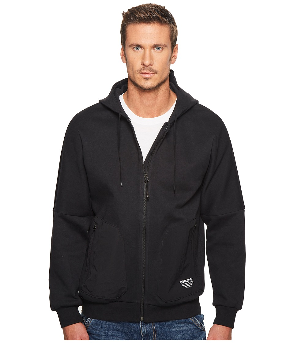 Adidas Originals - NMD FZ Hoodie (Black) Men's Sweatshirt