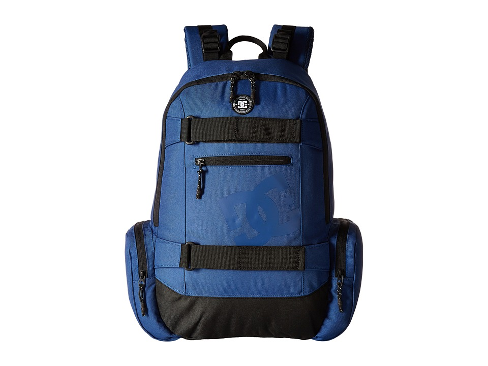 DC The Breed Backpack (Washed Indigo) Backpack Bags