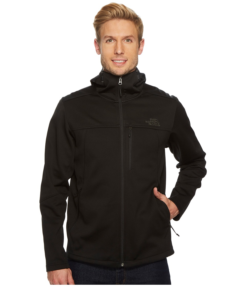 North Face Apex Canyonwall Hybrid Hoodie (TNF Black/TNF B...