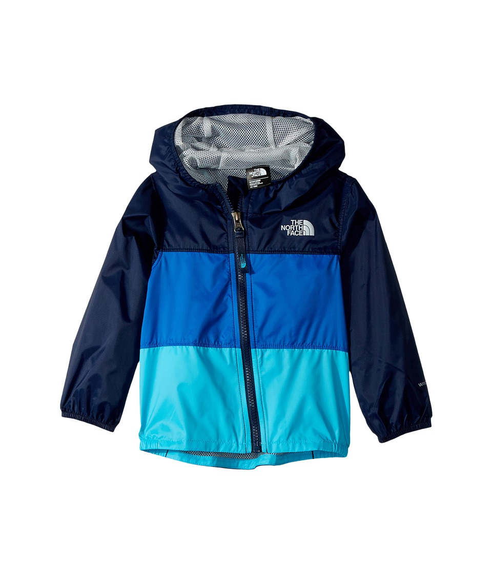 North Face Flurry Wind Jacket (Infant) (Cosmic Blue) Kid'...