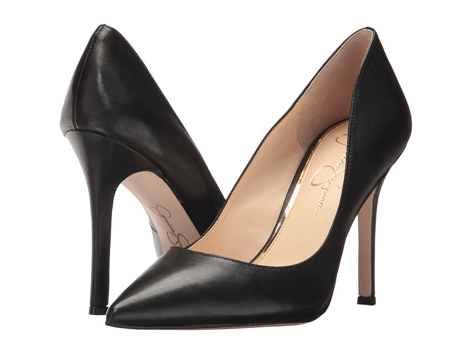 Jessica Simpson - Blayke (Black Silky) High Heels