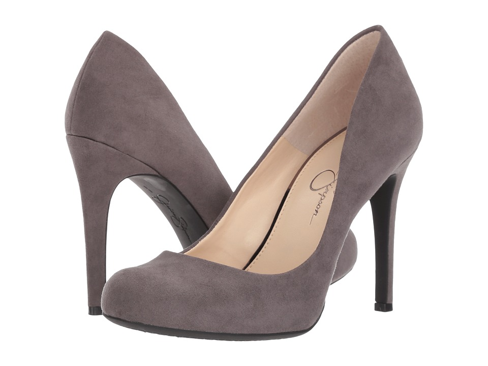 Jessica Simpson Calie (Really Grey Microsuede) High Heels