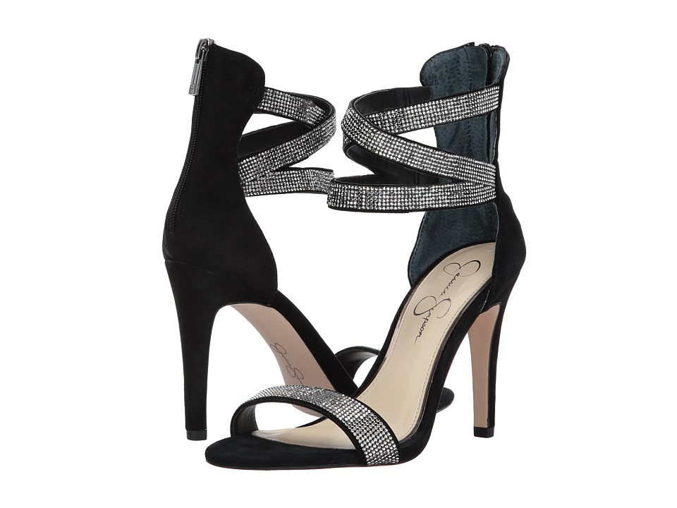 Jessica Simpson - Elepina (Black Lux Kid Suede) High Heels