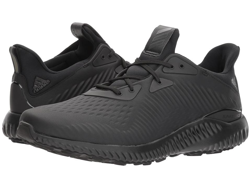 Adidas Running - Alphabounce (Black/Carbon/Black) Men's R...